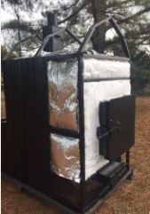 Thermowind 1000 Waterless Forced Air Wood Furnace