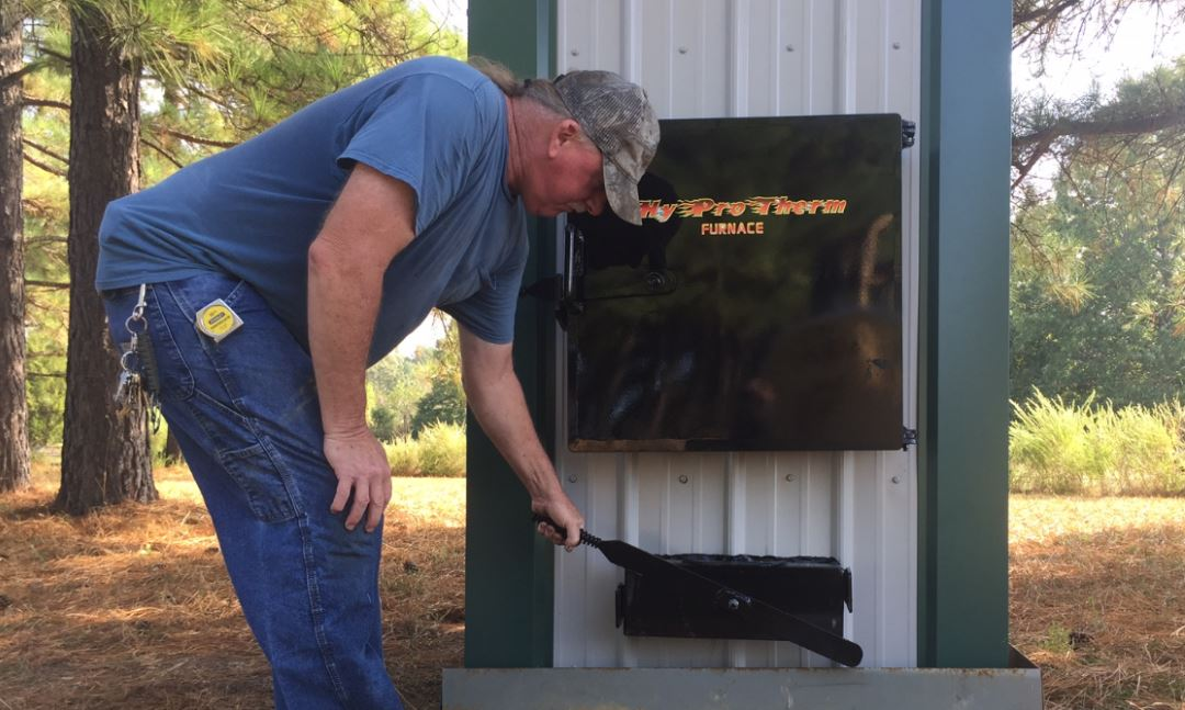 Best way to hook up wood boiler