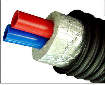 Choosing the right underground insulated pex pipe for your for Pex pipe for hot water heating