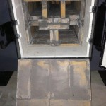Nature's Comfort GT-6000 Front Refractory with Cover Open