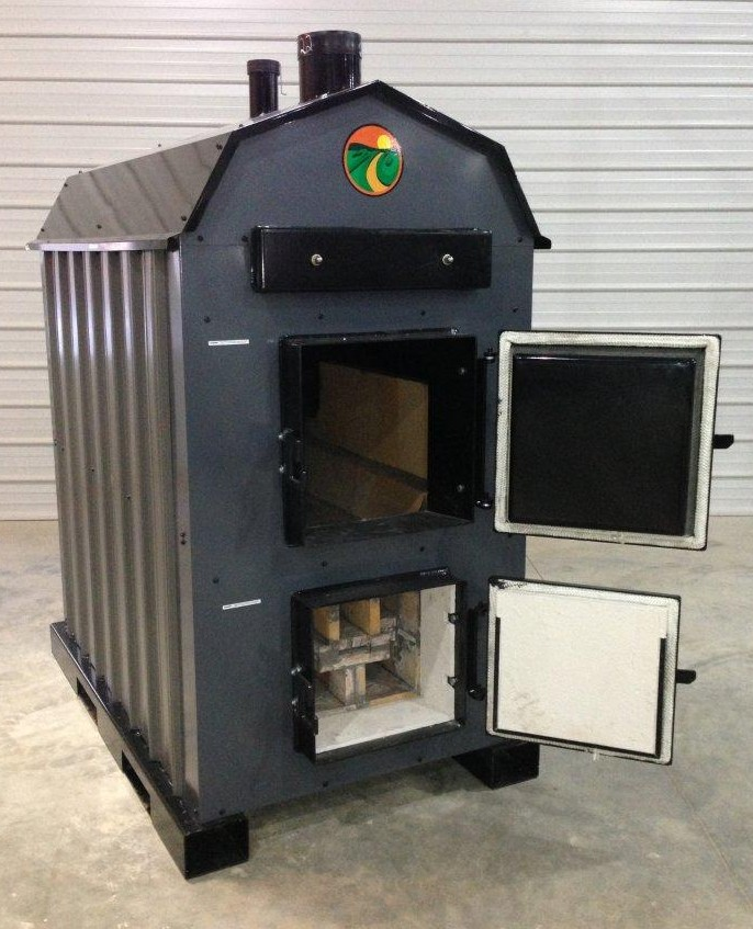 Shaver Outdoor Wood Burning Furnace - EPA Certified And Approved Outdoor Wood Burning Furnace