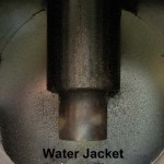 Water Jacket around flue
