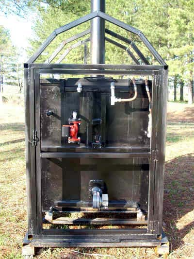 how to build outdoor wood furnace
