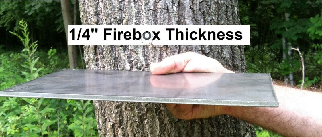 Firebox Thickness Nature's Comfort