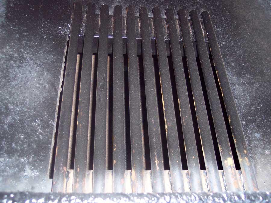 waterless forced air wood furnace