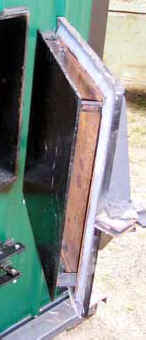 build a clean burning outdoor furnace door